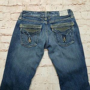 Taverniti So Jeans Jeans - Taverniti SO Peggy Bootcut Jeans Distressed 28